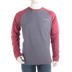 Columbia Men's Ketring Raglan Long Sleeve Shirt - Tall