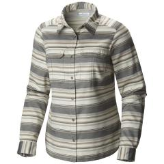 Columbia Women's Pilsner Lodge Stripe Long Sleeve Shirt