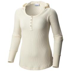 Columbia Women's Weekday Waffle Henley Long Sleeve Extended Sizes