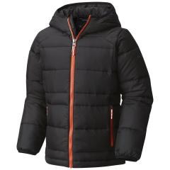 Boys' Gold 550 TurboDown Hooded Down Jacket
