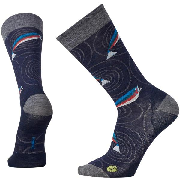 SmartWool Men's Charley Harper Rocky Mountain Fish Crew