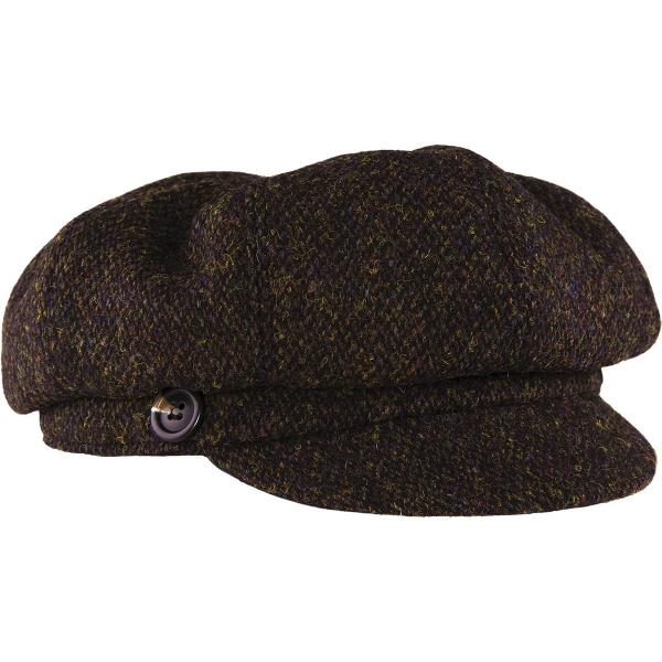 Stormy Kromer Women's Gatsby Harris Tweed Cap