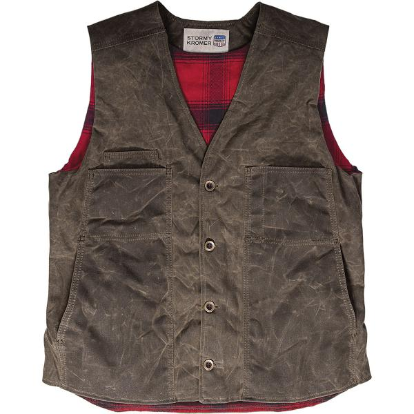 Stormy Kromer Men's Waxed Button Vest