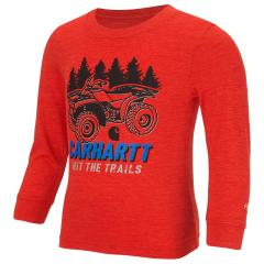 Infant and Toddler Boys' Hit The Trails Force Logo Tee