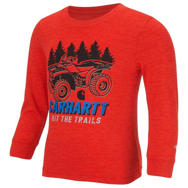 Carhartt Infant and Toddler Boys' Hit The Trails Force Logo Tee