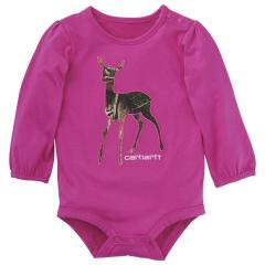 Carhartt Infant Girls' Camo Deer Bodyshirt