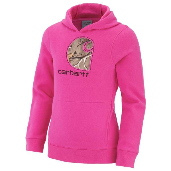 Carhartt Girls' Camo C Sweatshirt