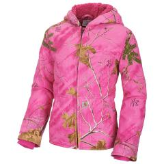 Girls' Camo Redwood Jacket