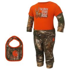 Infant Boys' Camo 3 Piece Gift Set
