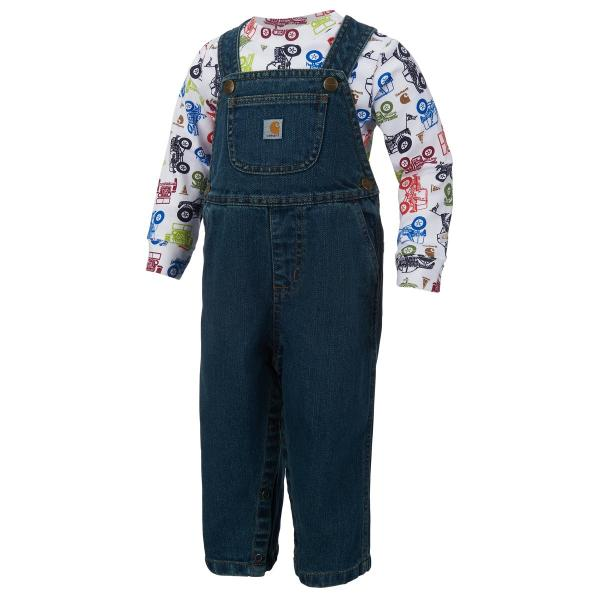 Carhartt Infant Boys' Vehicle Overall Set