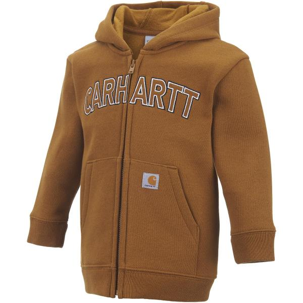Carhartt Toddler Boys' Logo Fleece Zip Sweatshirt