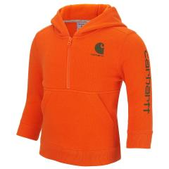 Carhartt Toddler Boys' Logo Fleece Half Zip Sweatshirt