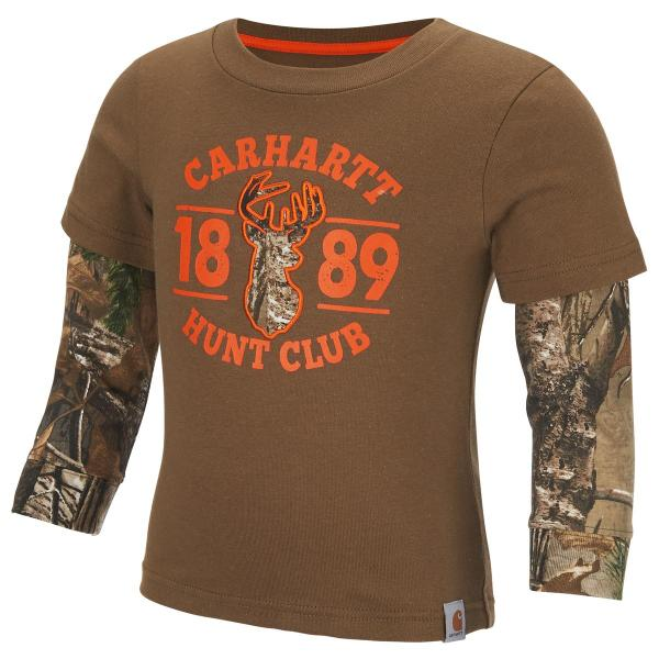 Carhartt Toddler Boys' Hunt Club Layered Tee