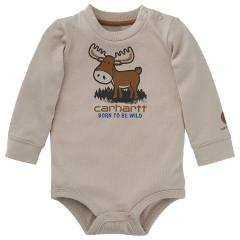 Infant Boys' Born Wild Bodyshirt