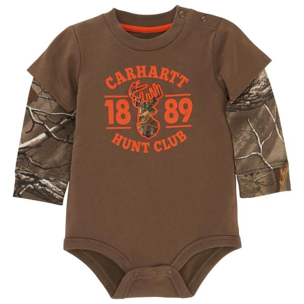 Carhartt Infant Boys' Camo Layered Bodyshirt