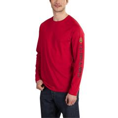 Carhartt Men's Force Cotton Delmont Sleeve Graphic T-Shirt - Discontinued Pricing