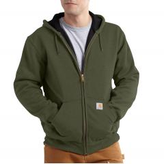 Men's Rain Defender Rutland Thermal-Lined Hooded Zip-Front Sweatshirt - Discontinued Pricing