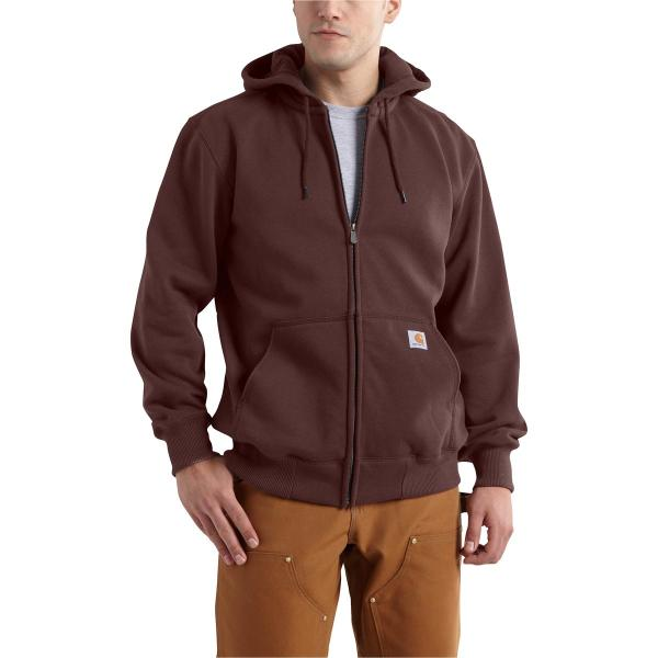 Carhartt Men's Rain Defender Paxton Heavyweight Hooded Zip-Front Sweatshirt - Discontinued Pricing
