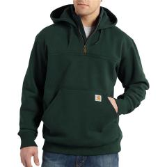 Men's Rain Defender Paxton Heavyweight Hooded Zip Mock Sweatshirt - Discontinued Pricing