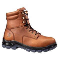 Men's 8 Inch Brown Waterproof Work Boot - Non Safety Toe