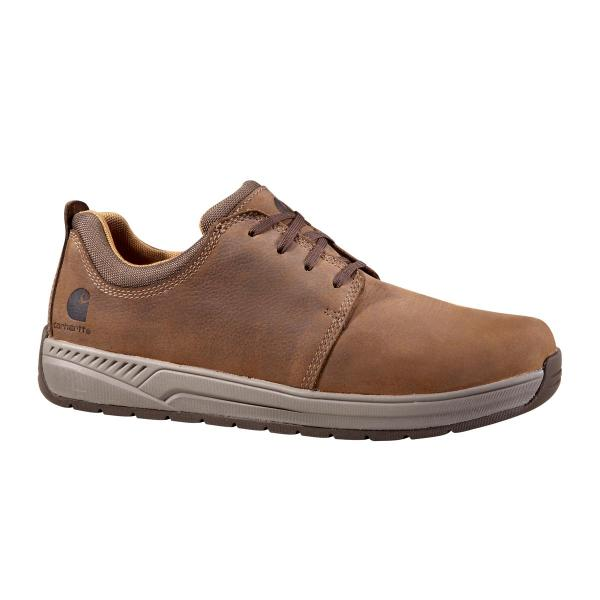 Carhartt Men's Oxford Shoe - Non Safety Toe - Bison Brown Oil Leather