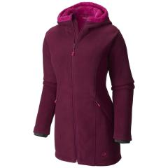 Women's Dual Fleece Hooded Parka - Discontinued Pricing