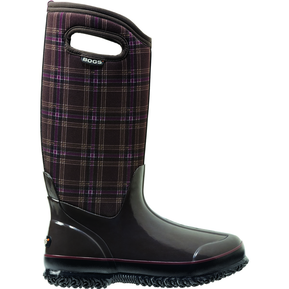 Bogs Women's Classic Winter Plaid Tall Discontinued Products