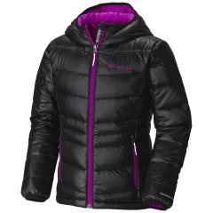Youth Girls' Gold 550 TurboDown Hooded Jacket - Discontinued Pricing