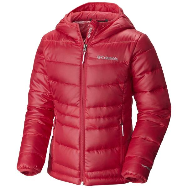 Columbia Youth Girls' Gold 550 TurboDown Hooded Jacket - Discontinued Pricing