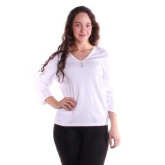 Lulu-B Women's V-Neck Sweater