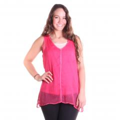 Women's Lace Back Top