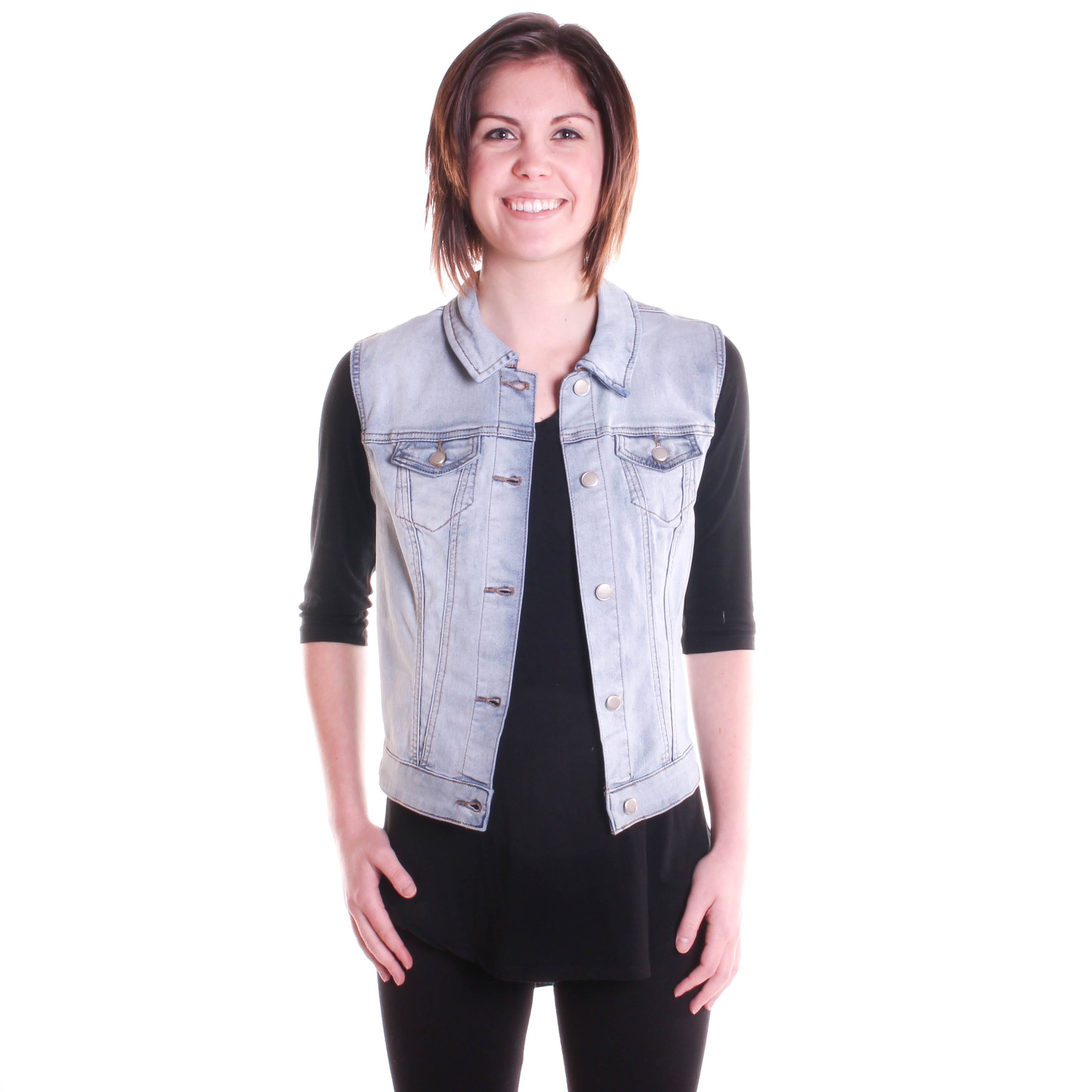Tribal Women's Jean Vest