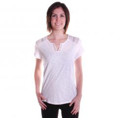 Women's Lace Yoke Top