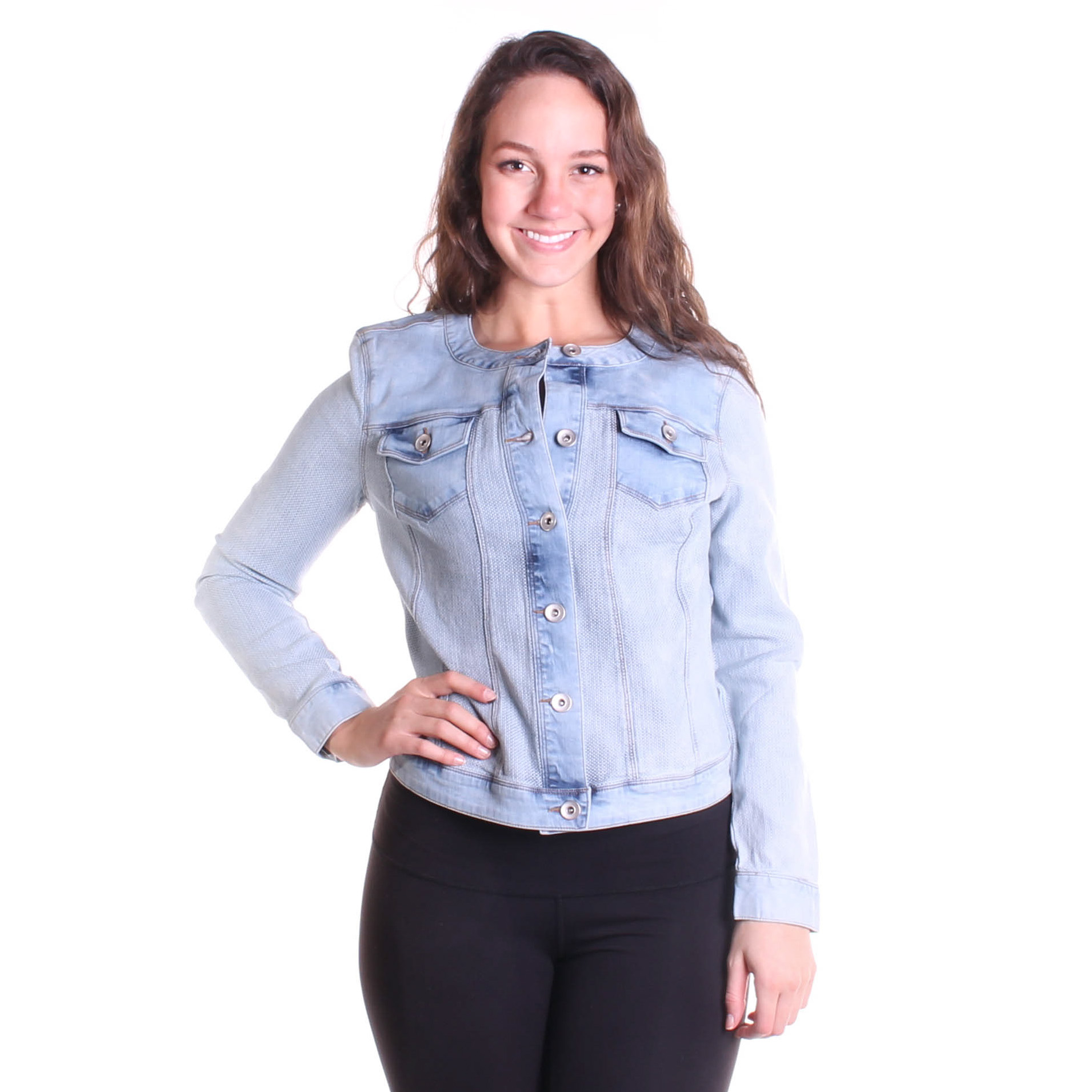 Tribal Women's Fancy Jean Jacket