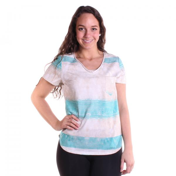 Tribal Women's Rolled Neck Top