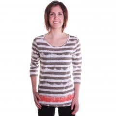 Women's Basic Striped Top