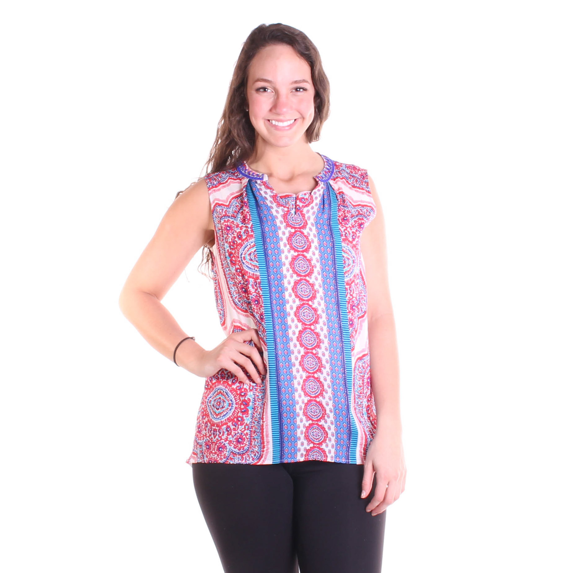 Tribal Women's Beaded Blouse