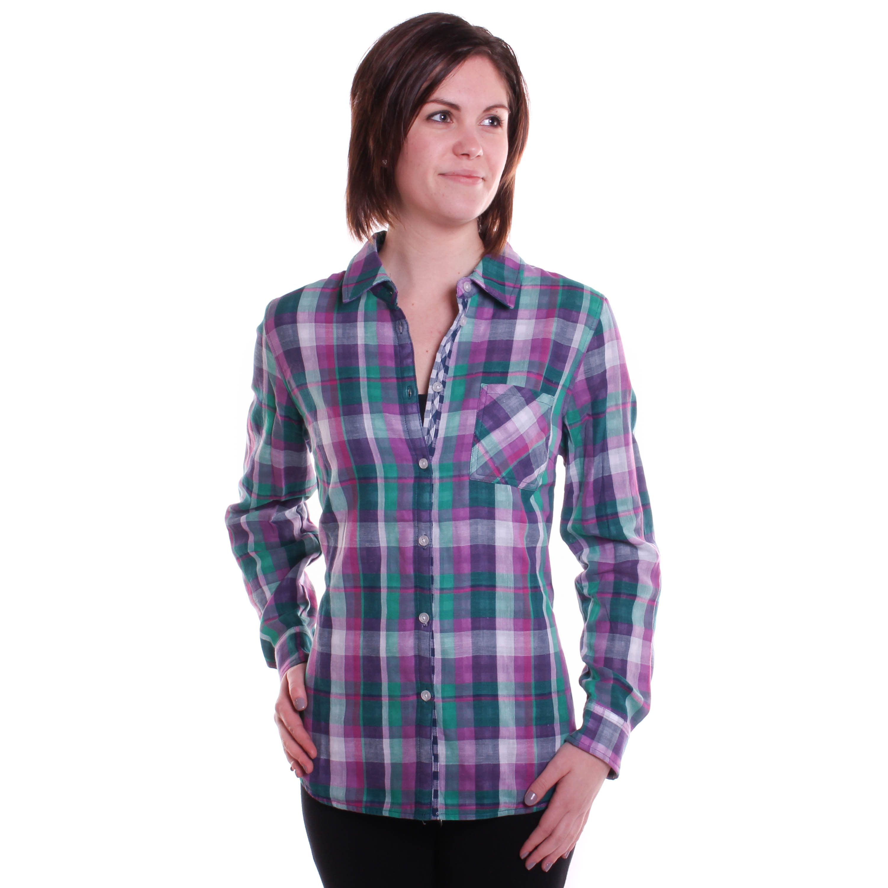 Tribal Women's Button Front Shirt