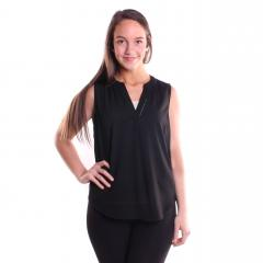 Women's Neck Trim Blouse