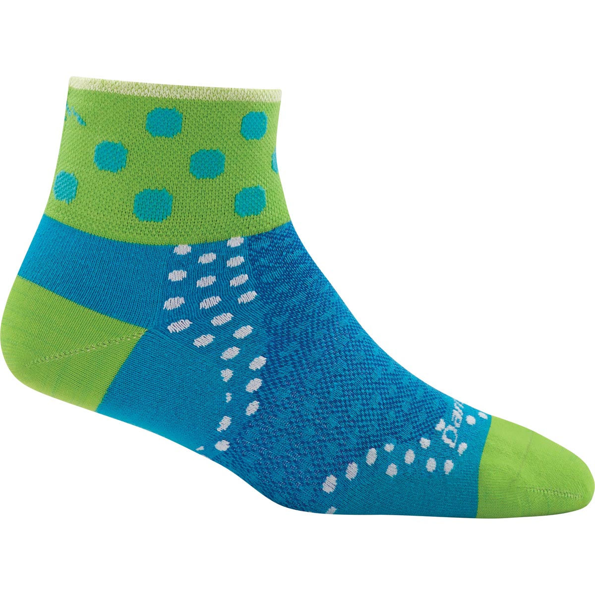 Darn Tough Vermont Women's Dot Quarter Sock Ultra Light