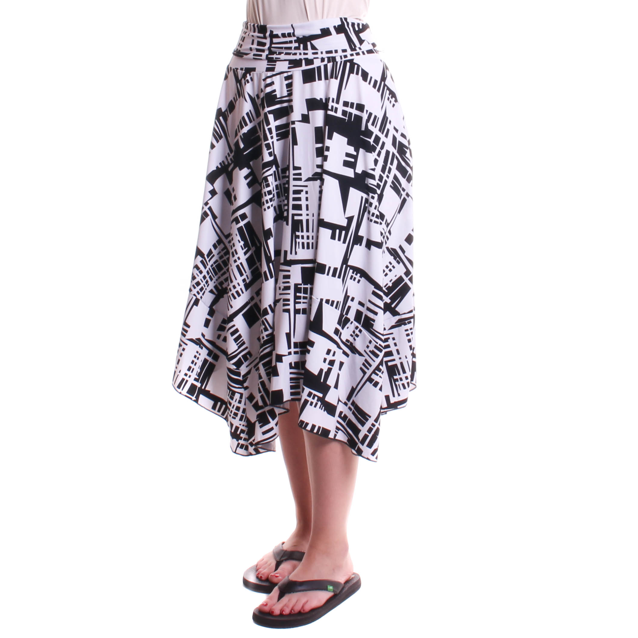 Comfy USA Women's SK Mila Skirt Print
