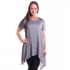 Comfy USA Women's Three Quarter Sleeve Tunic