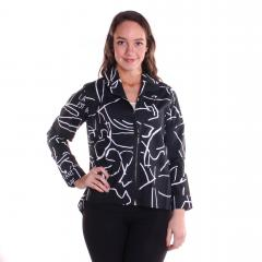 Comfy USA Women's LeAnn Shirt Print