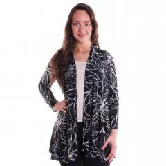 Comfy USA Women's Candace Cardigan Print