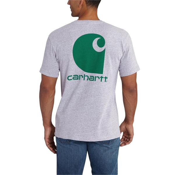 Carhartt Men's Maddock Graphic Shamrock Branded C Short Sleeve T-Shirt