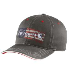 Carhartt Men's Distressed Flag Graphic Cap