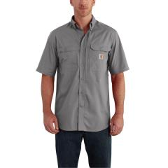Carhartt Men's Force Ridgefield Solid Short Sleeve Shirt