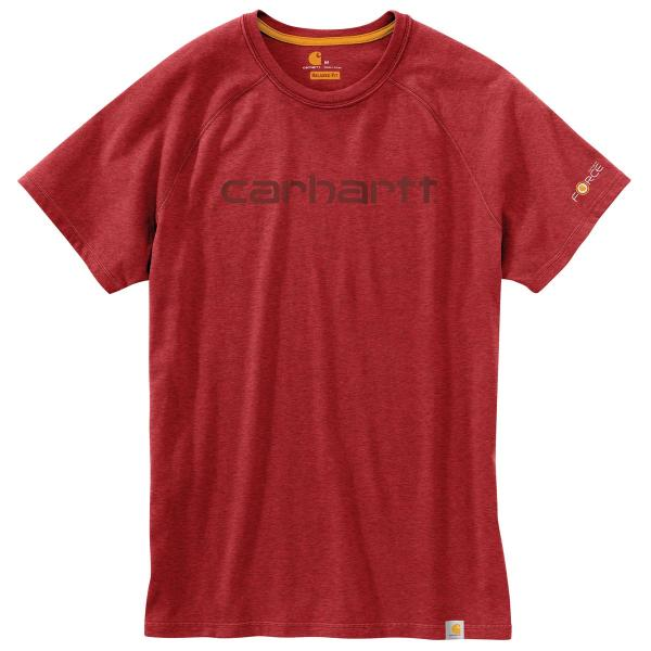 Carhartt Men's Force Cotton Delmont Graphic Short Sleeve T-Shirt