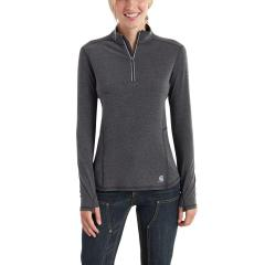 Carhartt Women's Force Ferndale Quarter Zip Shirt