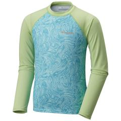 Columbia Girls' Mini Breaker Printed Long Sleeve Sunguard